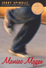 Maniac Magee Book Cover Maniac Magee